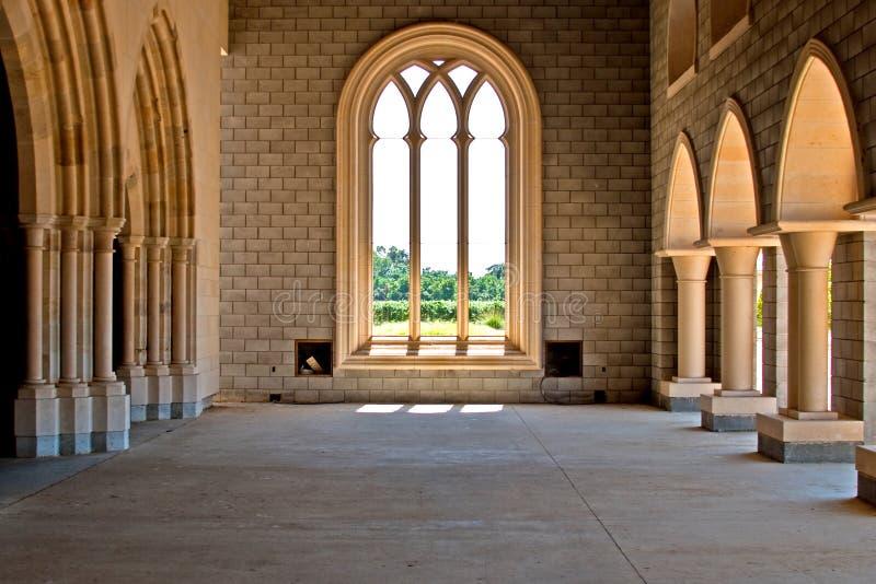 Abtei von neuem Clairvaux stockfotos