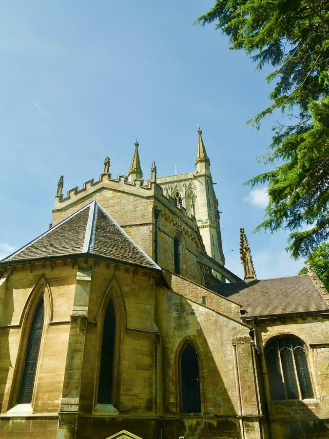 Abtei in Worcestershire stockfotografie