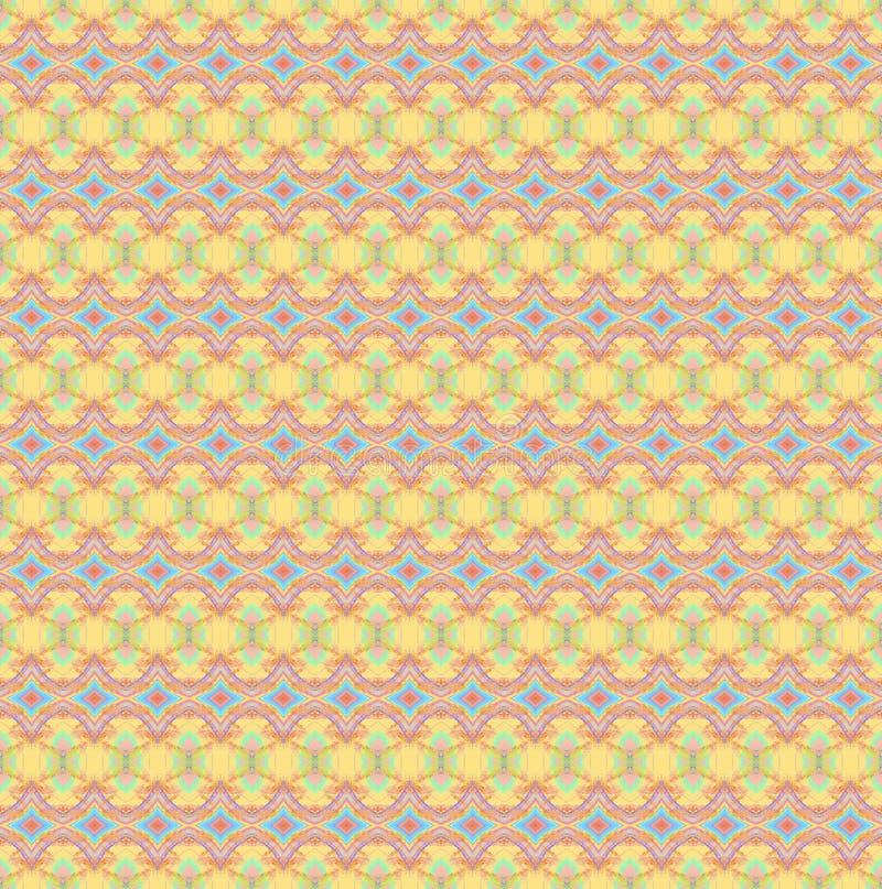 Abtract geometrische achtergrond Regelmatig horizontaal multicolored diamantpatroon royalty-vrije illustratie