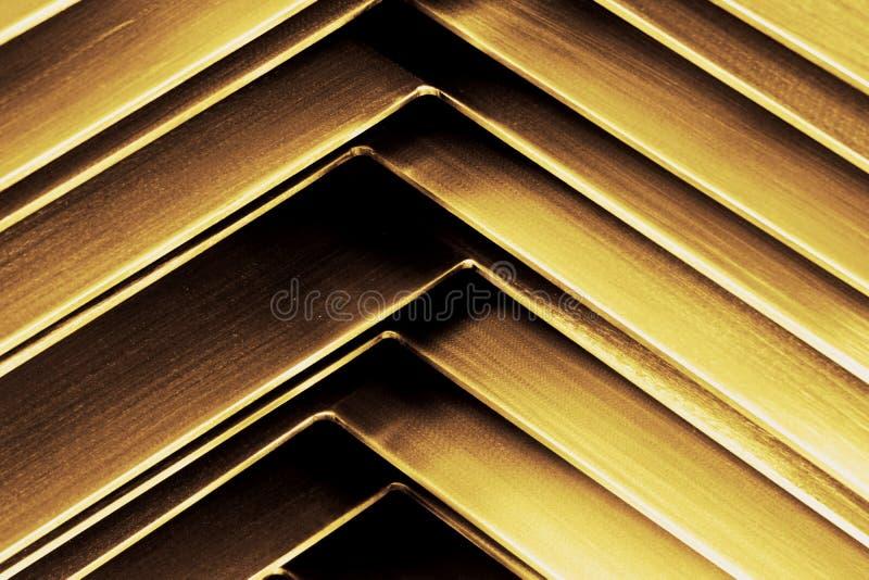 Abtract-Metallecke stockfoto