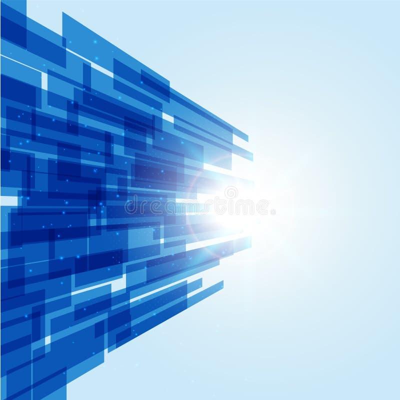 Abtract-Technologiehintergrund, futuristischer Hintergrund Sci FI, Vec stockbilder