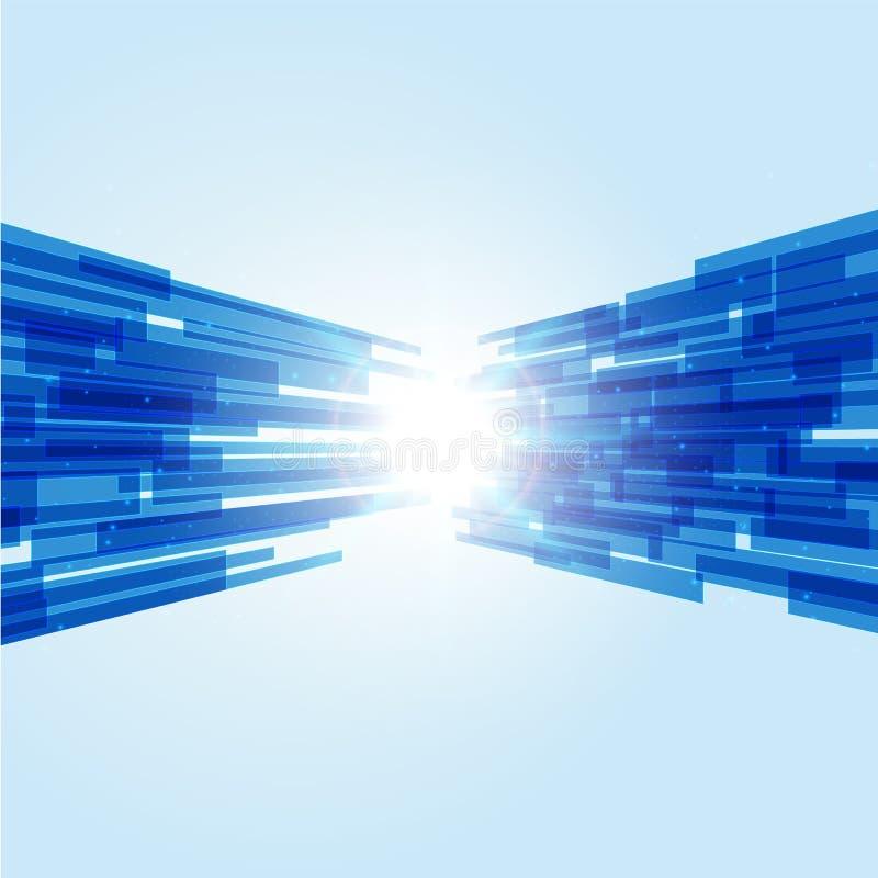 Abtract-Technologiehintergrund, futuristischer Hintergrund Sci FI, Vec lizenzfreie stockfotografie