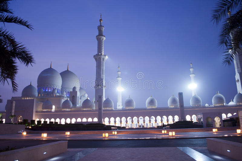 abu Ισλάμ εμιράτων dhabi που ενώνεται αραβικό στοκ εικόνες