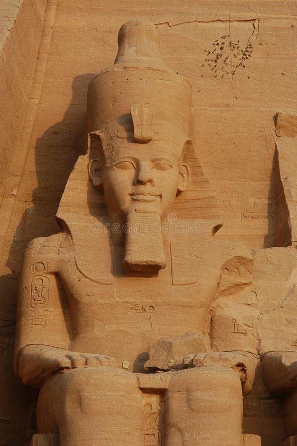 Abu极大的simbel寺庙 免版税库存照片