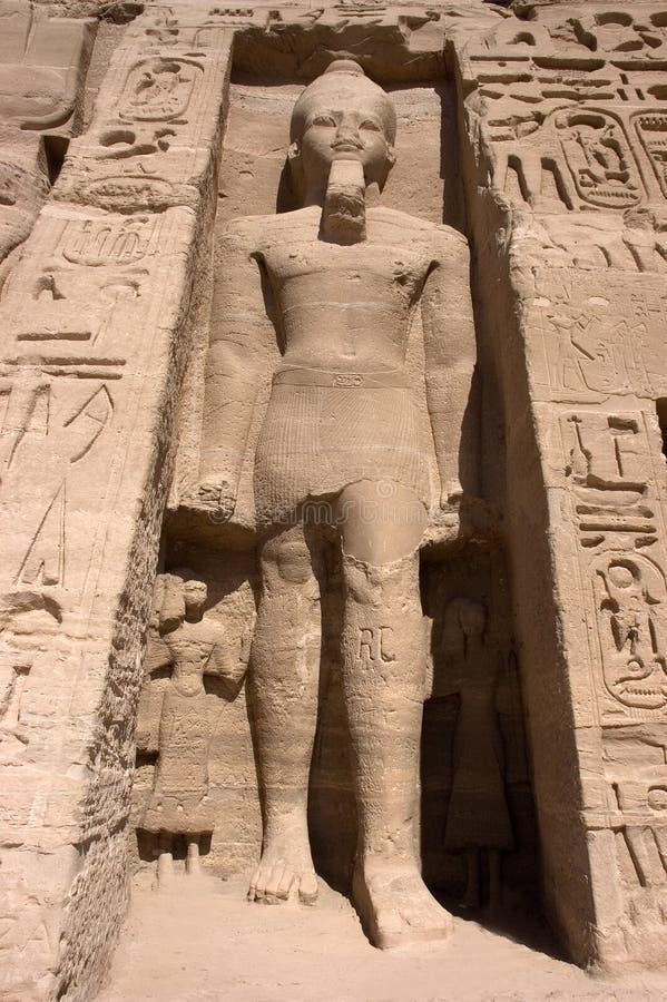 abu antyczna Egypt pharaoh simbel podróż zdjęcie royalty free