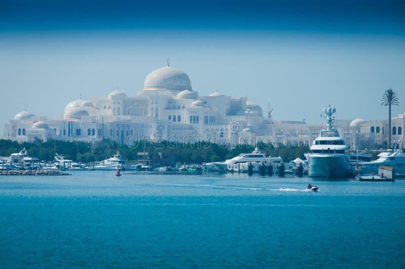 Abu dabi pałac obraz royalty free