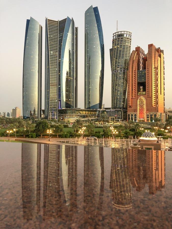 Abu Dhabi stock afbeelding