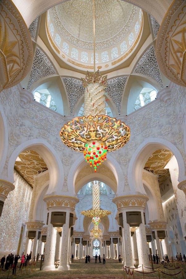 Abu Dhabi royaltyfri bild