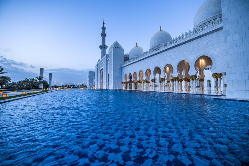 Abu Dhabi stockfotos