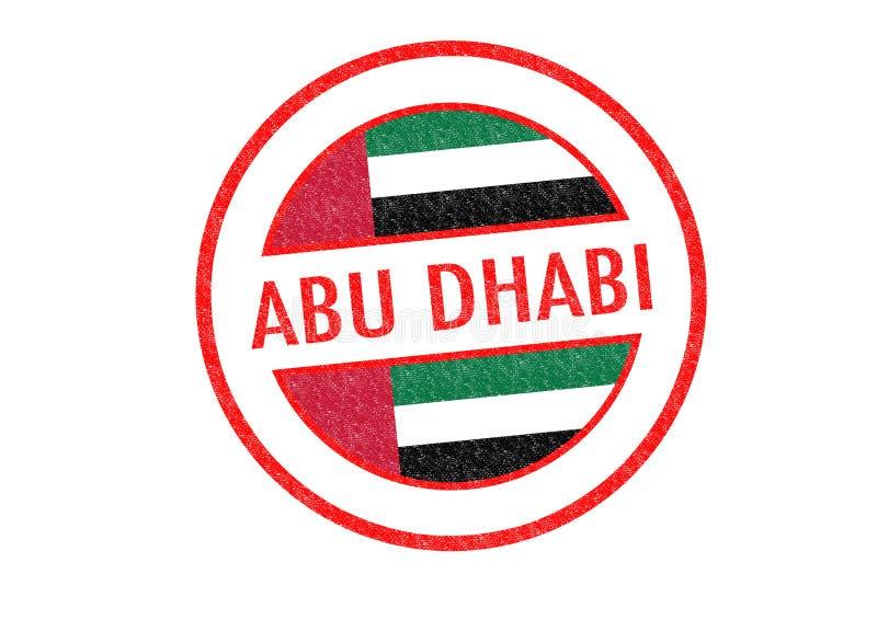 Abu Dhabi ilustración del vector