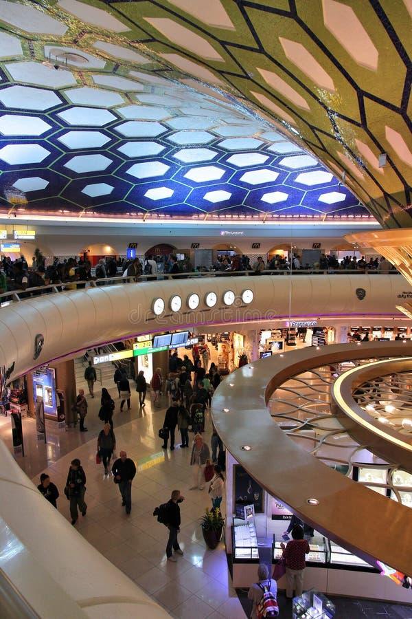 Abu Dhabi Airport foto de archivo libre de regalías