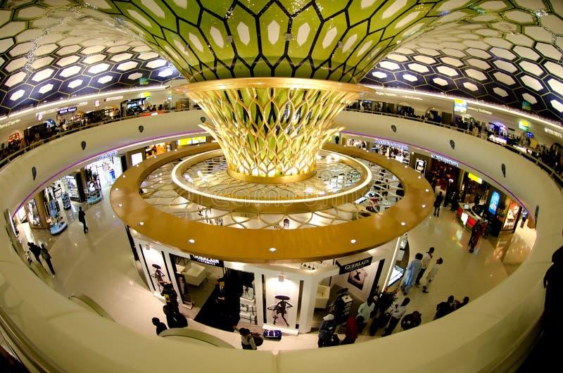Abu Dhabi Airport immagini stock libere da diritti