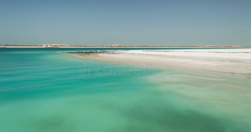 Abu Dhabi Beach stock photos