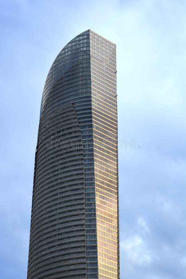 Abu Dhabi Building photo stock