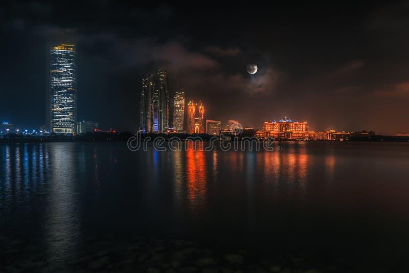 Abu Dhabi Cityscape lizenzfreies stockfoto