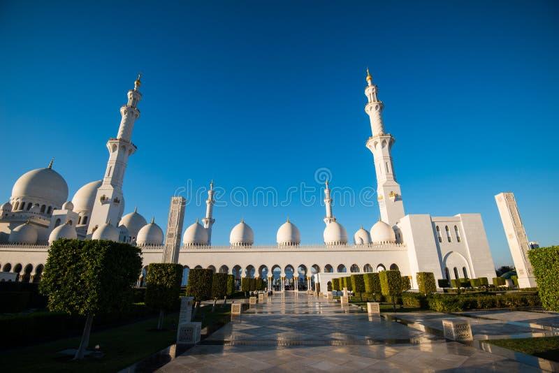 Abu Dhabi, EAU, le 4 janvier 2018, Sheikh Zayed Grand Mosque dans Abu Dhabi photo stock