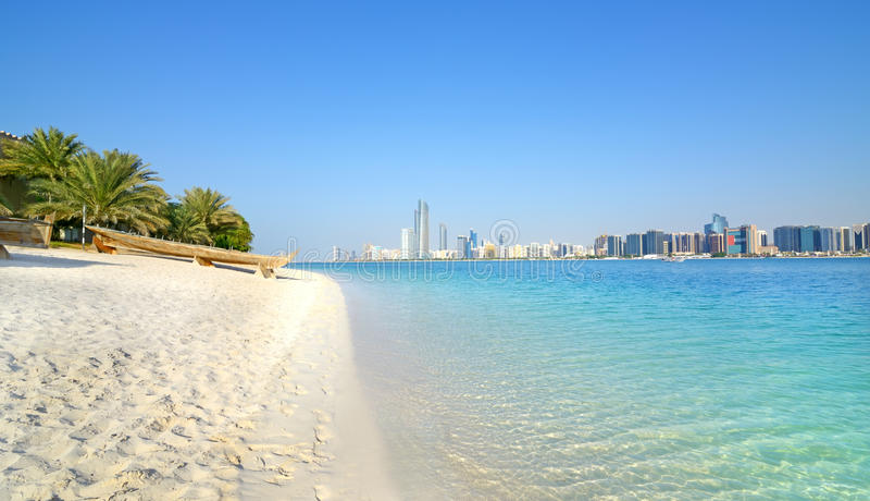 Abu Dhabi, Emirats Arabes Unis images stock