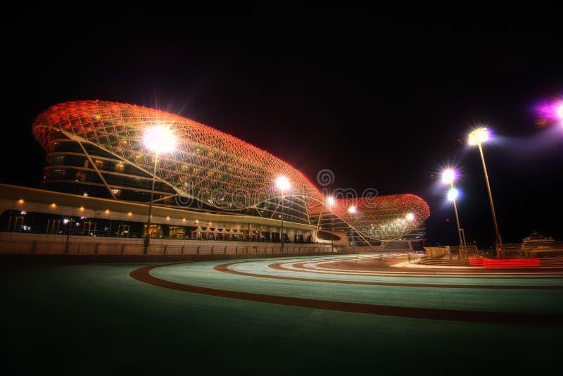 Abu Dhabi formuły 1 ślad obrazy stock