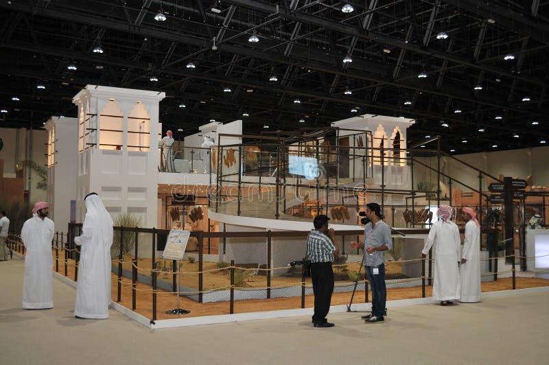 Abu Dhabi International Hunting en Ruiterexh royalty-vrije stock foto's