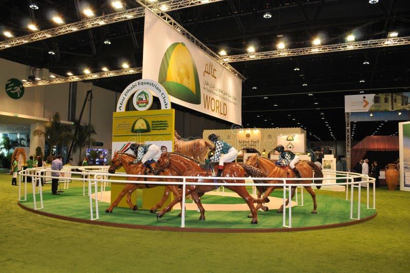 Abu Dhabi International Hunting and Equestrian Exhibition (ADIHEX) - Abu Dhabi Equestrian Club. Abu Dhabi International Hunting and Equestrian Exhibition (ADIHEX stock images