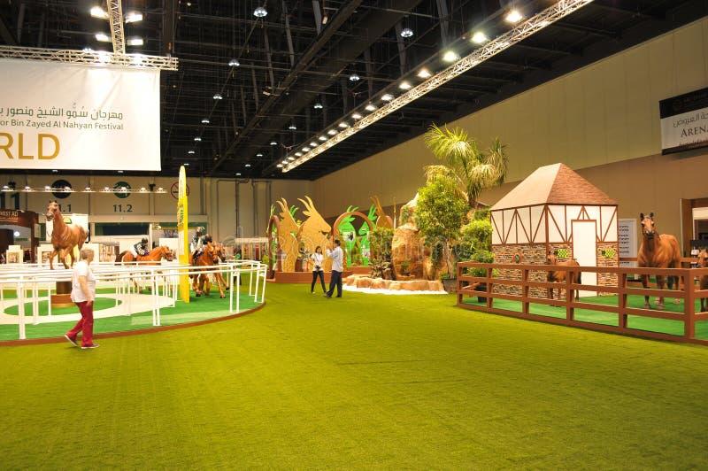 Abu Dhabi International Hunting and Equestrian Exhibition (ADIHEX) - Abu Dhabi Equestrian Club. Abu Dhabi International Hunting and Equestrian Exhibition (ADIHEX stock photography