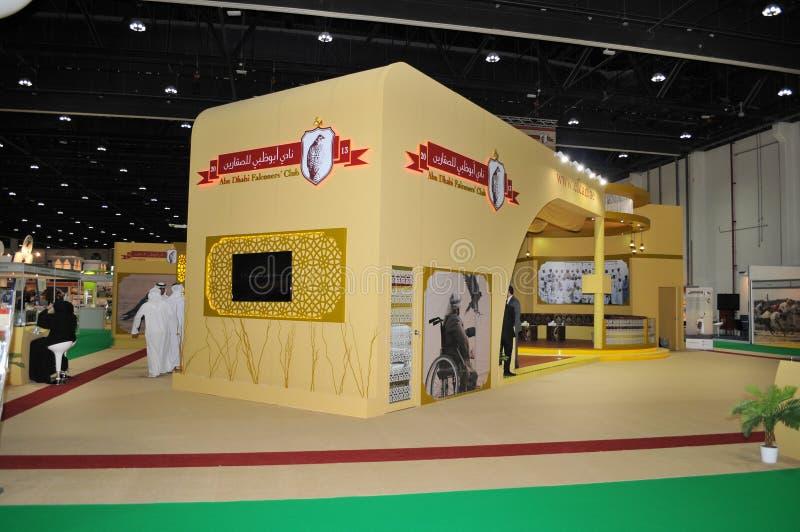Abu Dhabi International Hunting and Equestrian Exhibition (ADIHEX) - Abu Dhabi Falconers Club. Abu Dhabi International Hunting and Equestrian Exhibition (ADIHEX royalty free stock images