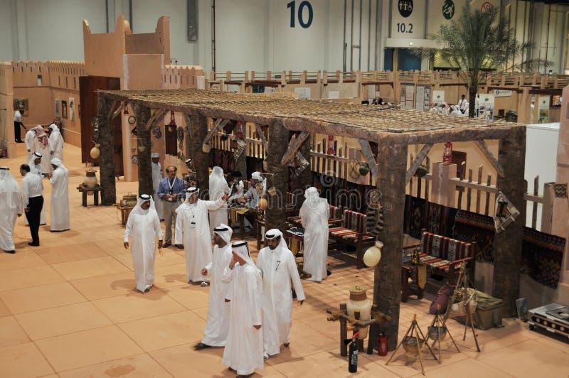 Abu Dhabi International Hunting and Equestrian Exhibition (ADIHEX) - Abu Dhabi Tourism & Culture Authority. Abu Dhabi International Hunting and Equestrian stock photography