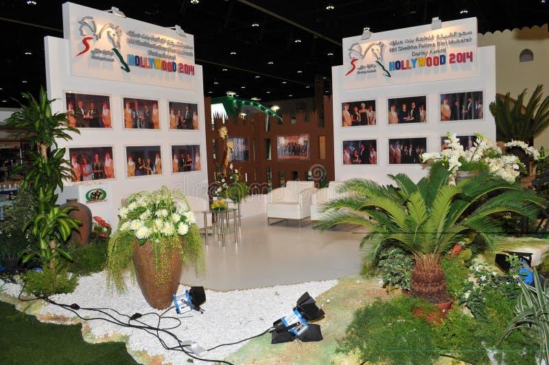 Abu Dhabi International Hunting and Equestrian Exhibition (ADIHEX) - Hollywood 2014 Award. Abu Dhabi International Hunting and Equestrian Exhibition (ADIHEX) royalty free stock photo