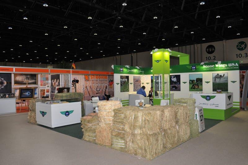 Abu Dhabi International Hunting and Equestrian Exhibition (ADIHEX) - Stone Wings USA. Abu Dhabi International Hunting and Equestrian Exhibition (ADIHEX) 2013 in stock image