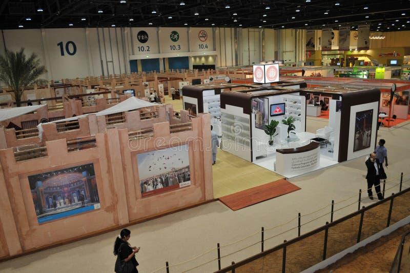Abu Dhabi International Hunting et exposition équestre (ADIHEX) - programmes et Comité culturels de festival d'héritage images libres de droits