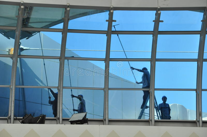 Abu Dhabi Marina Mall en los UAE imagen de archivo