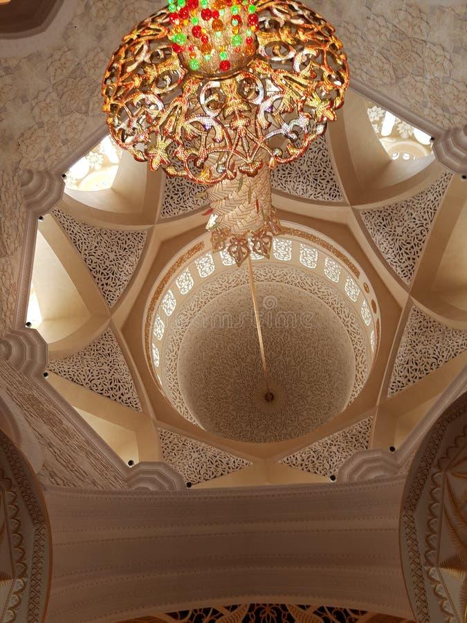 Abu Dhabi Mosque fotografia de stock
