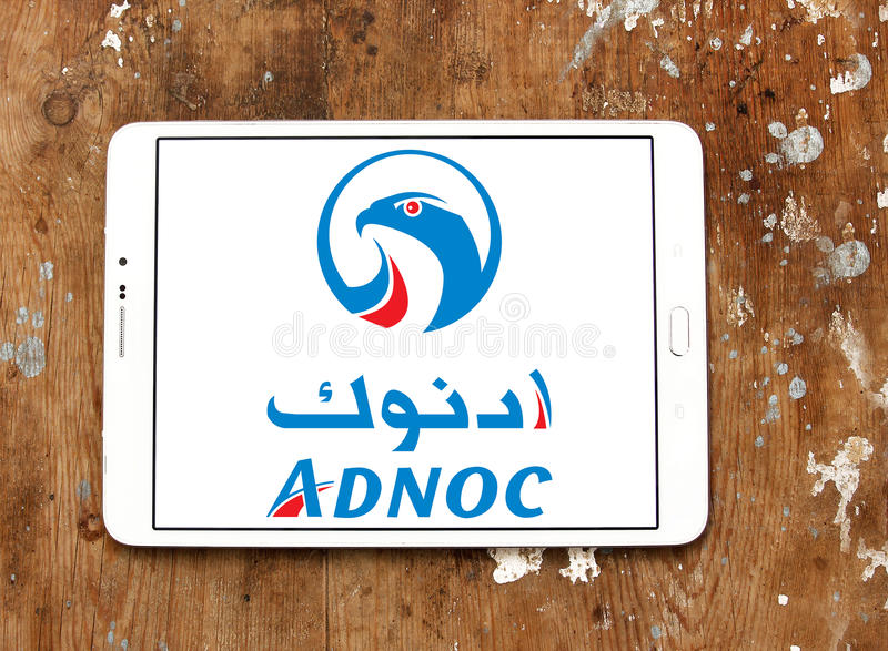 Abu Dhabi National Oil Company, ADNOC Logo Editorial Stock