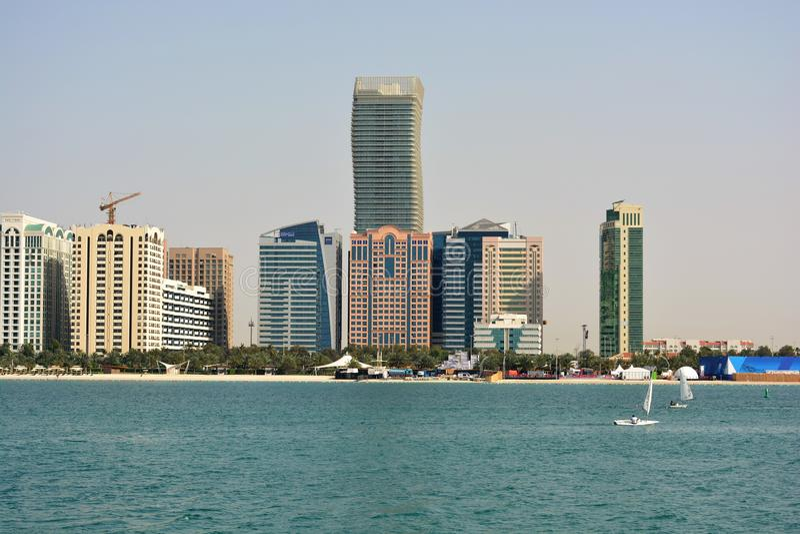 Abu Dhabi, OAE fotografia stock libera da diritti