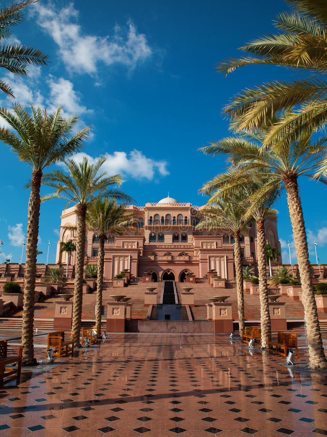 Download Abu Dhabi, Palais D'émirats Photo stock - Image du landmark, marbre: 45355750