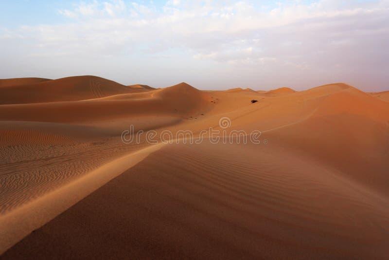 Abu Dhabi Sand Dunes stock photos