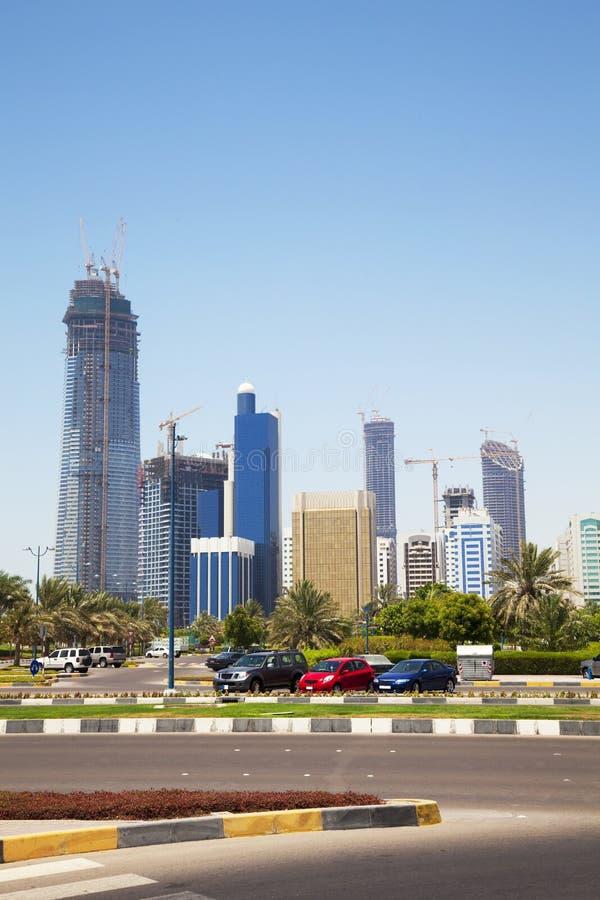 Download Abu Dhabi Skyline, UAE stock image. Image of center, skyscrapers - 14582141