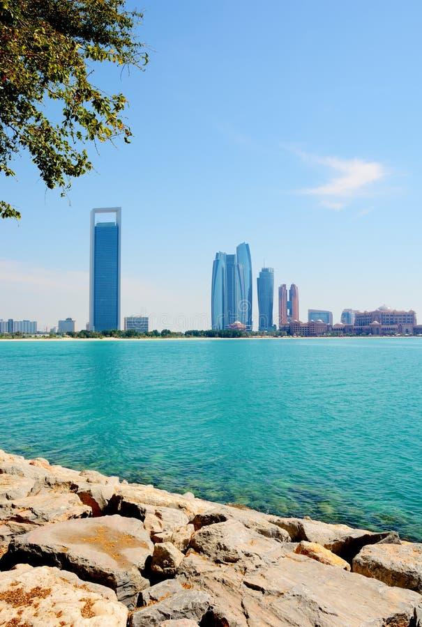 ABU DHABI, UAE - 26 DE MARÇO DE 2016: Abu Dhabi fotos de stock royalty free
