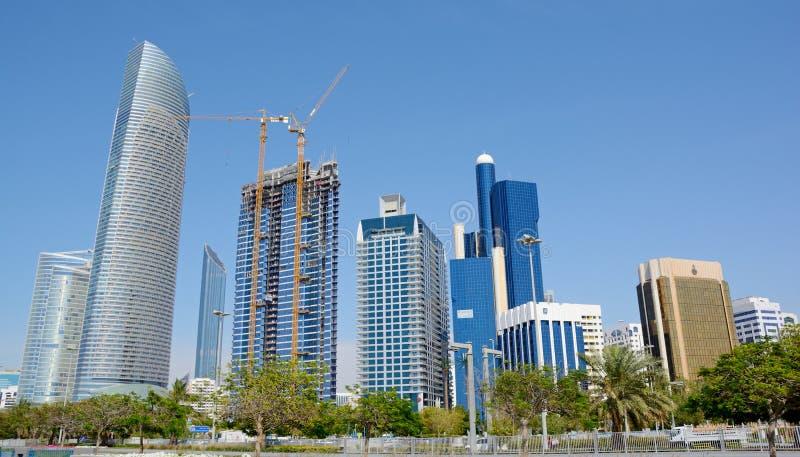 ABU DHABI, UAE - 26 DE MARÇO DE 2016: Abu Dhabi foto de stock