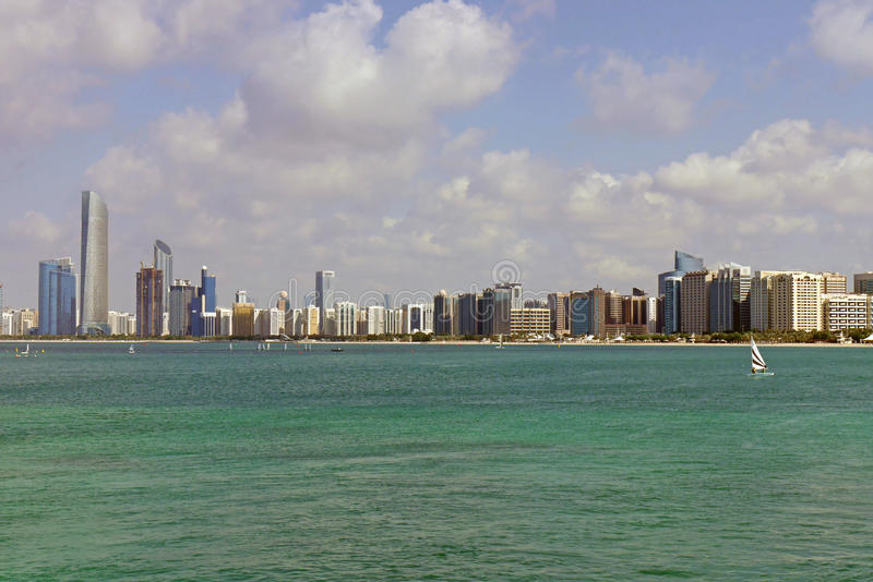 Abu Dhabi, United Arab Emirates fotografía de archivo libre de regalías