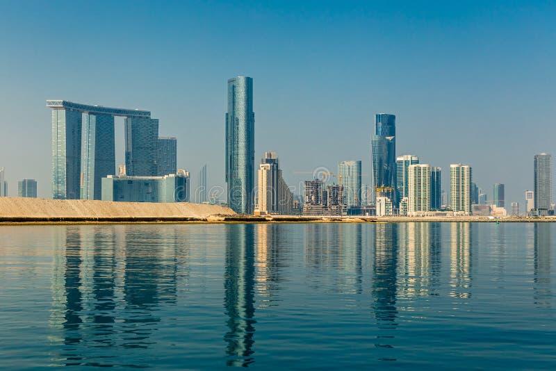 Skyscrapers On Al Reem Island In Abu Dhabi, United Arab