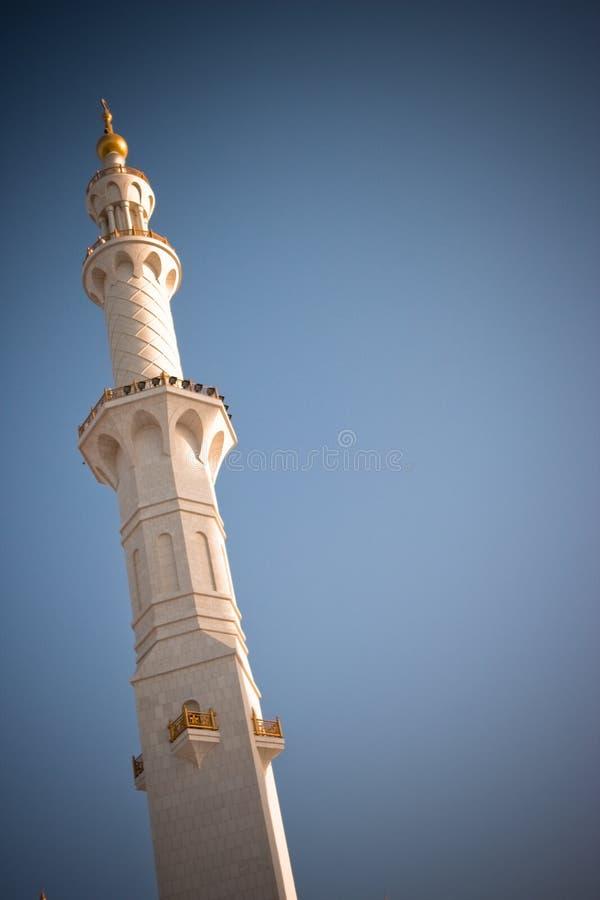 abu dhabi uroczysty meczetowy sheikh zayed obrazy royalty free