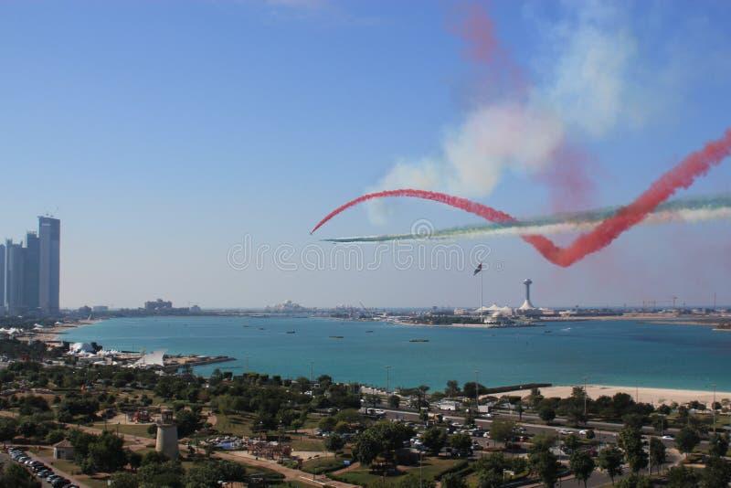 Abu Dhabi, Vereinigte Arabische Emirate stockfotografie