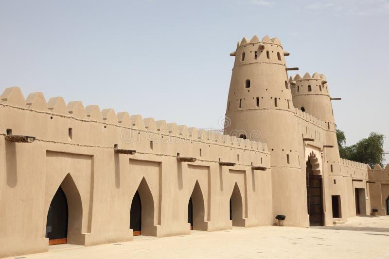 abu fortu al antyczny dhabi fort zdjęcia royalty free