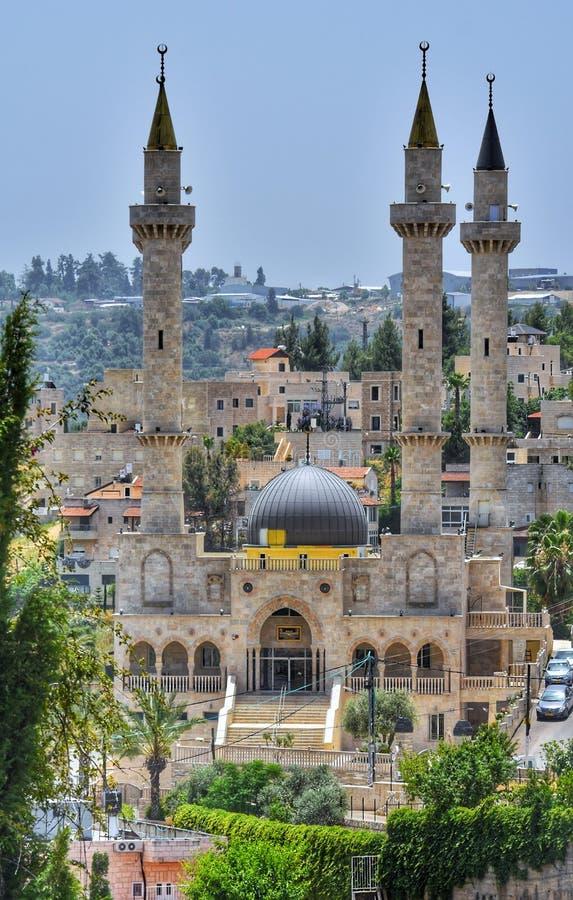 Abu Ghosh-mega-moskee royalty-vrije stock foto