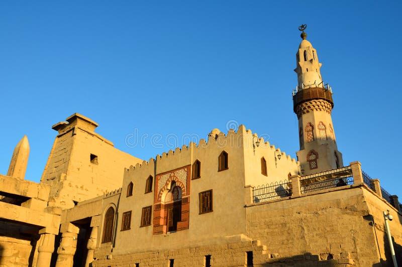 Abu Haggag Mosque arkivfoton