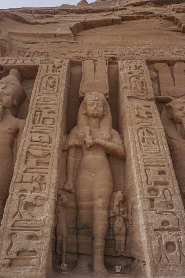 Abu Simbel, Αίγυπτος: Ναός Αμπού Σίμπελ στοκ φωτογραφία με δικαίωμα ελεύθερης χρήσης