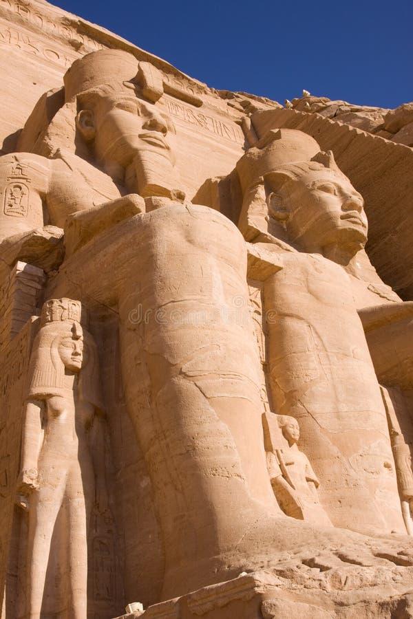 Download Abu simbel stock image. Image of evening, column, carved - 15561669
