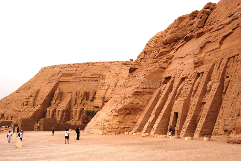 Abu Simbel fotos de stock
