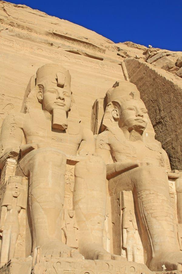 Abu Simbel 3 foto de archivo libre de regalías